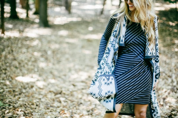 Stripes and Aztec